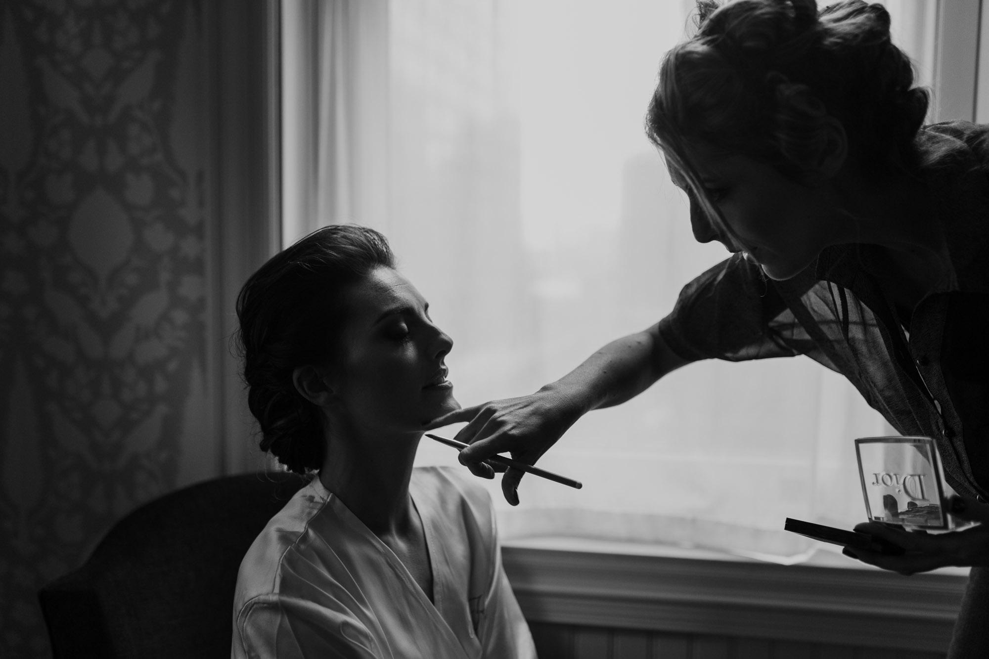 nyc wedding photographer makeup artist