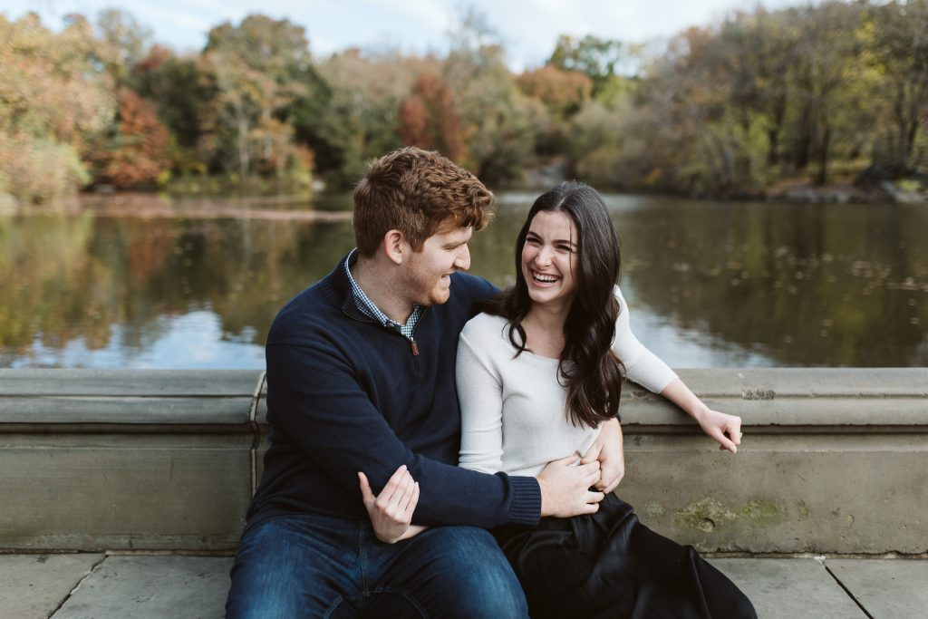 central park fall engagement photographer nyc wedding photographer darrington photography