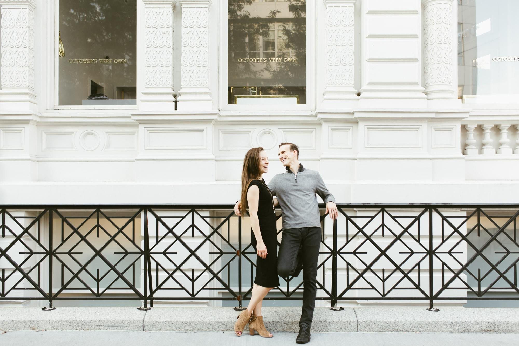 A New York engagement session in Soho by Sarah Wight