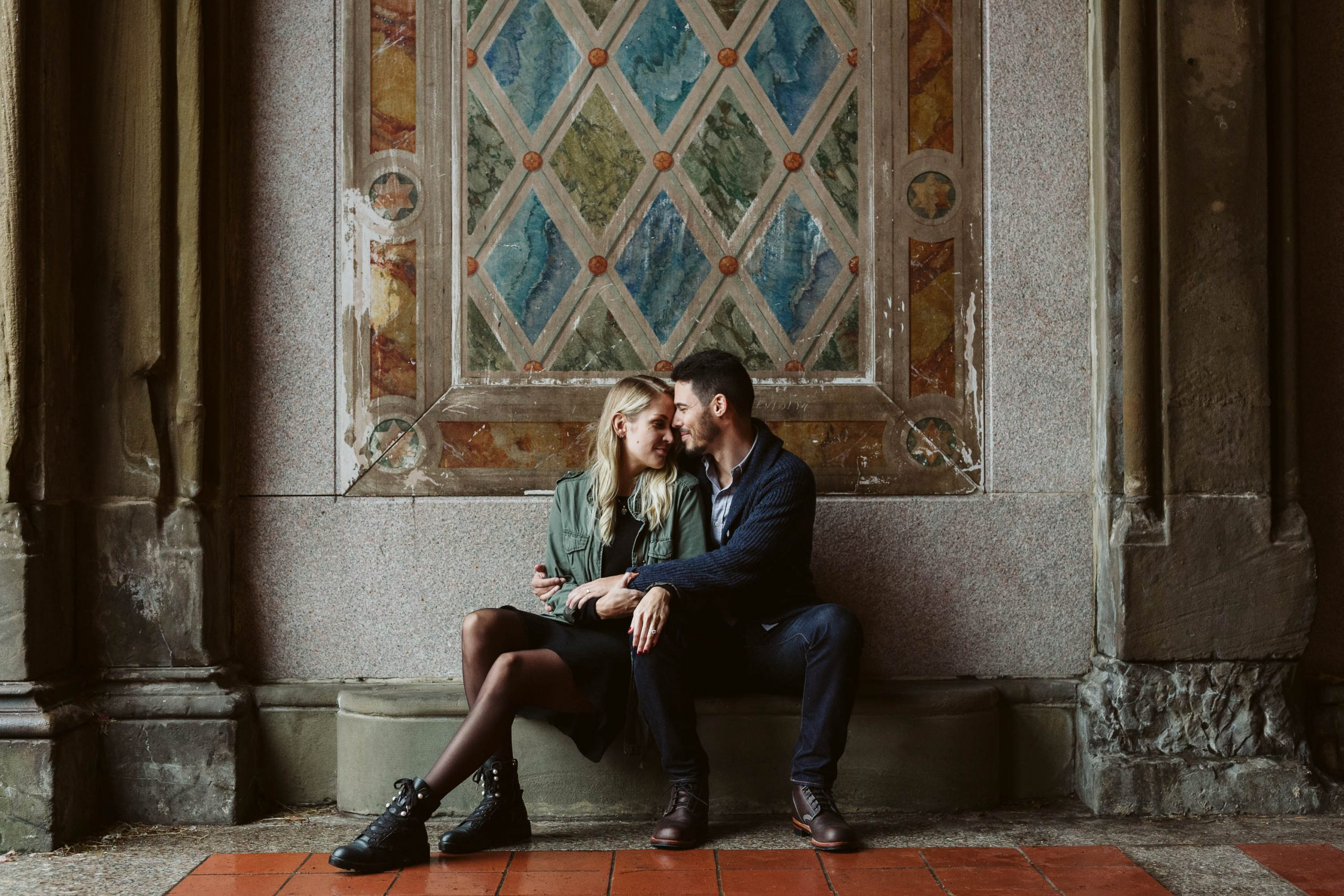 fall moody central park engagements sarahwight
