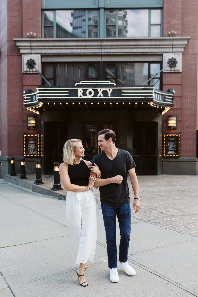 roxy hotel tribeca engagement photos