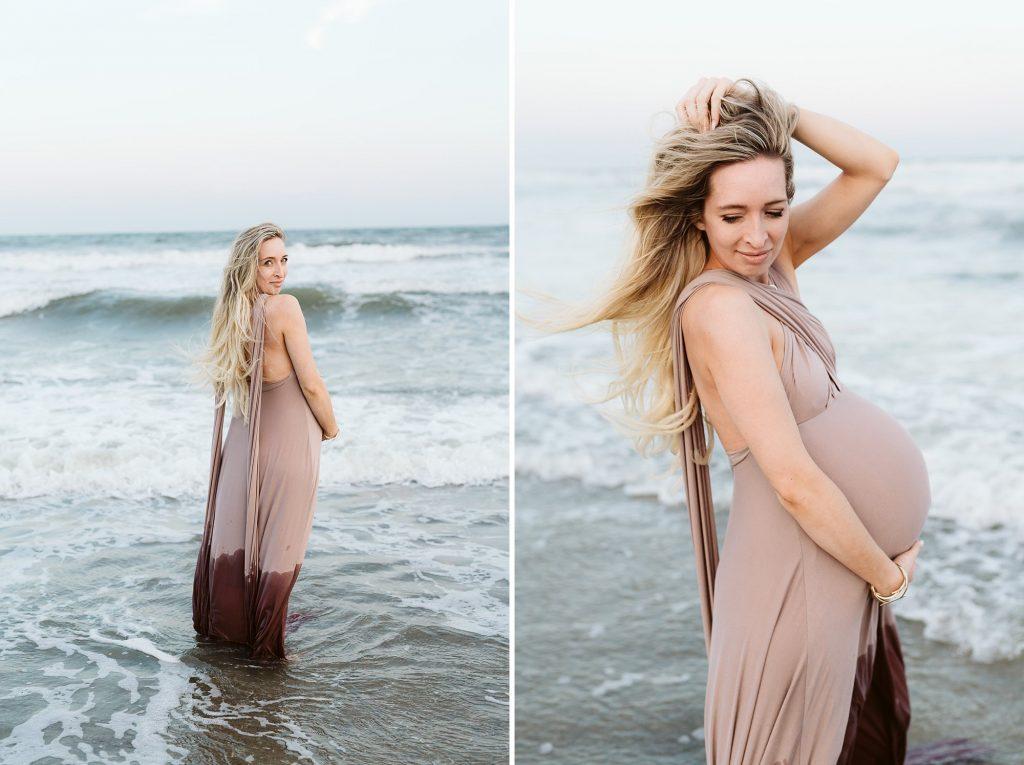 lido beach ny ocean maternity photos by sarah wight sayeed