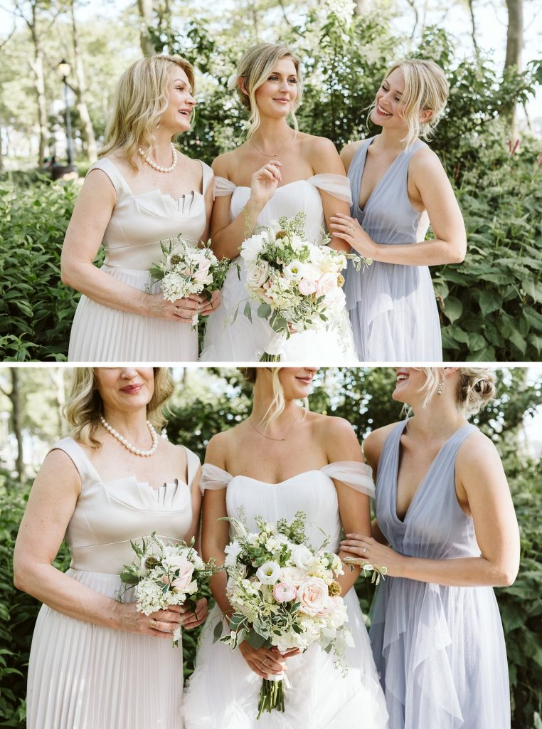 battery park wedding party photos by NYC elopement photographer Sarah Sayeed