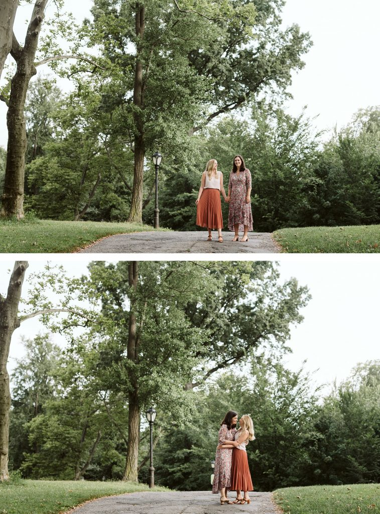 central park engagement session lbgtq couple by NYC elopement photographer Sarah Sayeed