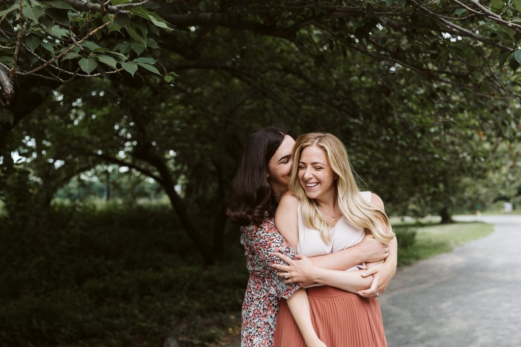 central park engagement session lesbian couple by NYC elopement photographer Sarah Sayeed
