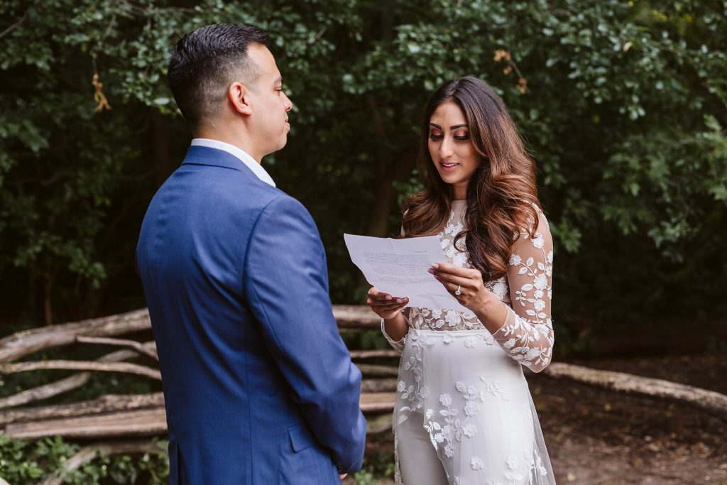 central park elopement by NYC elopement photographer Sarah Sayeed