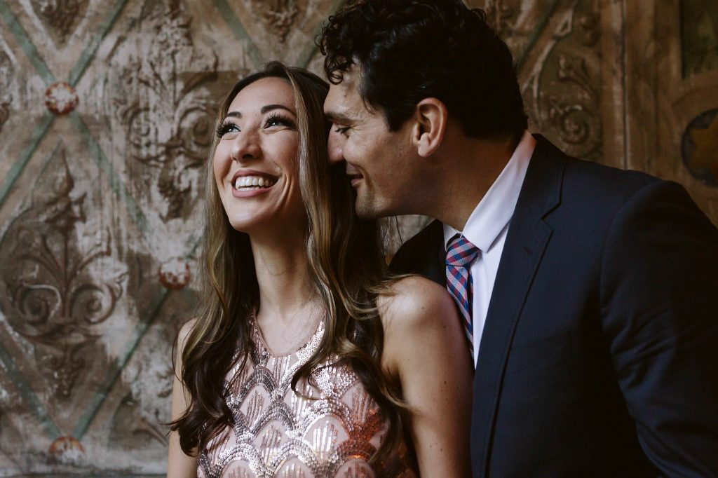 bethesda terrace engagement photos by NYC elopement photographer Sarah Sayeed