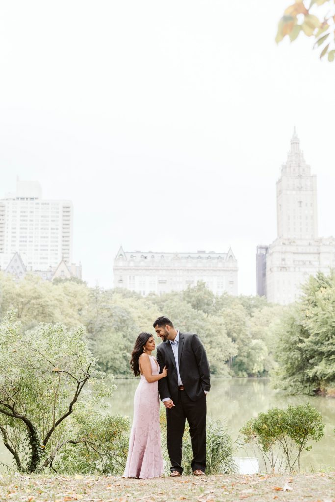 Indian Central Park Engagement Photos by NYC elopement photographer Sarah Sayeed